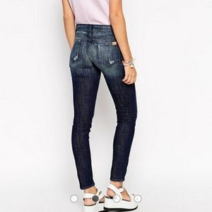 Wildfox Marianne Distressed Skinny Jeans